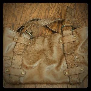 Aldo brown leather purse